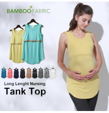 Maternity Nursing Bamboo Tank Top