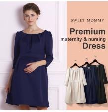 Maternity and Nursing Formal Dress