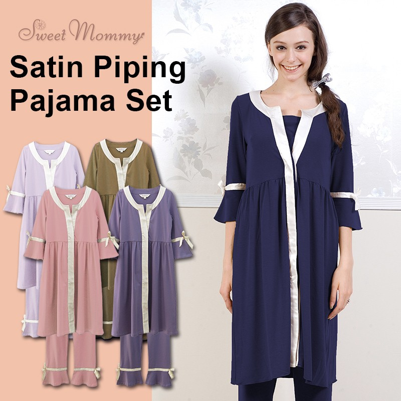 Find an excellent selection of maternity sleepwear including maternity pajamas and robes online at A Pea in the Pod. A Pea in the Pod Maternity. 2 DAYS ONLY! SAVE 40% OFF SELECT STYLES - SHOP NOW. Menu. A Pea in the Pod Maternity Button Front Nursing Pajama Set $ P.J. Salvage 3 Piece Nursing Pajama Set $ P.J. Salvage Relaxed.