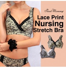 Stretch Lace Maternity Nursing Bra