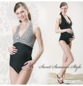 One Piece Maternity Nursing Swimsuit