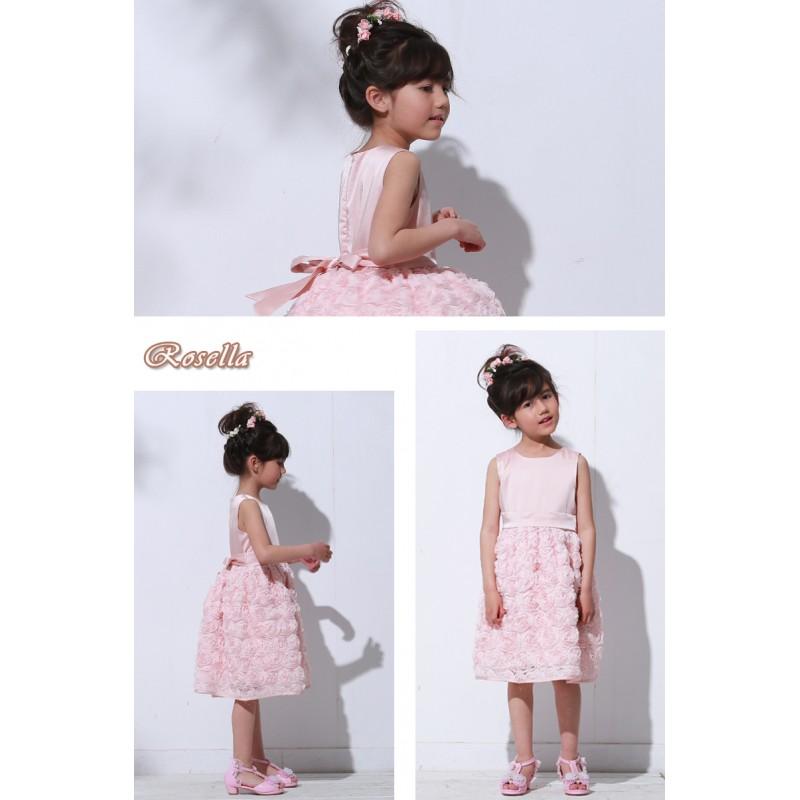Vestiti Cerimonia 10 Anni.Vestito Rosa Da Damigella Sweet Mommy
