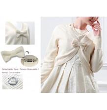 Pure Organic Cotton Maternity Bolero