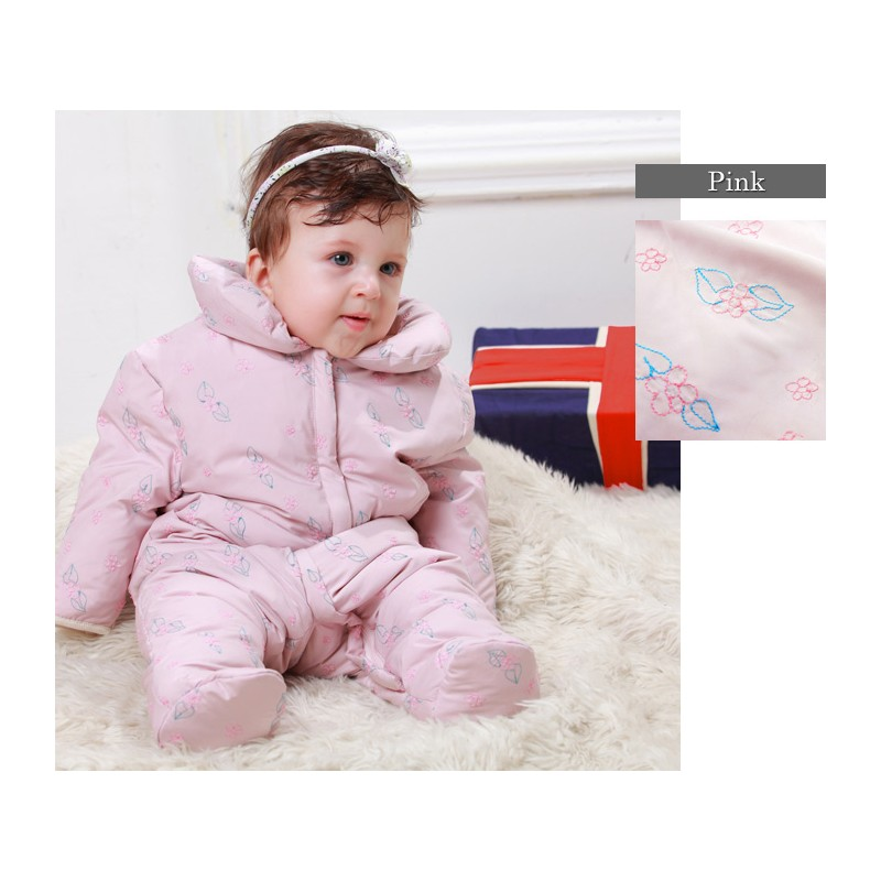 Baby Down Feather Snowsuit