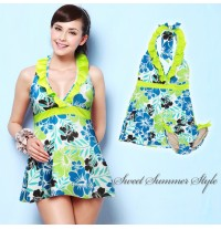 Maternity and Nursing Tankini Swimsuit Kp3015