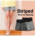 Pantaloncini a righe premaman