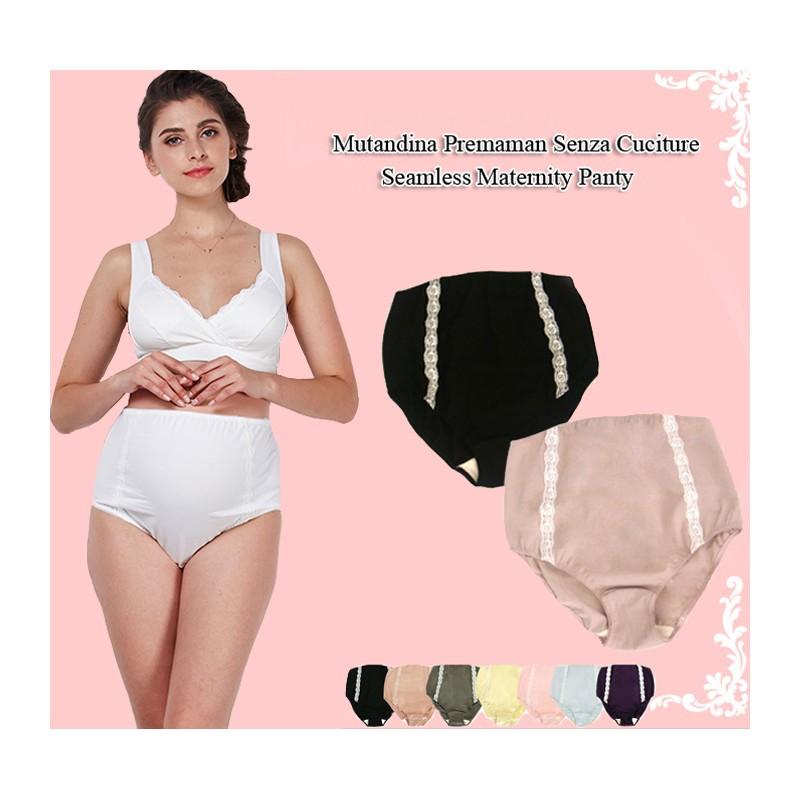 Culotte de grossesse avec dentelle