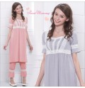 Short Sleeves Maternity Nursing Pajamas
