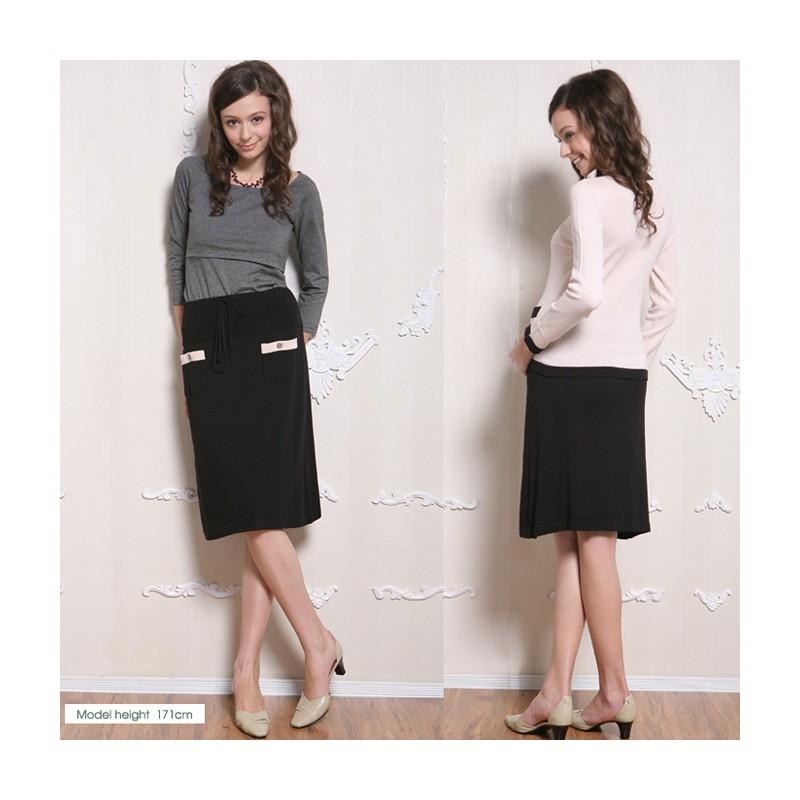 Knit Maternity Skirt
