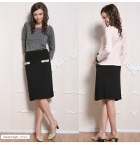 Knit Maternity Skirt