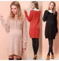 Robe-Pull de Grossesse en Coton Bio