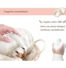 Coppette Assorbilatte In Cotone Biologico 6 Strati