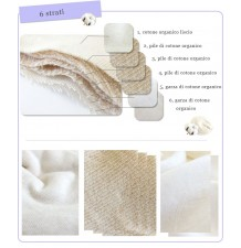 Six Layers Organic Cotton Nursing Pads