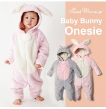 Baby bunny costume lined of organic cotton