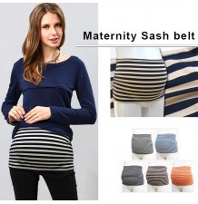 "Striped Maternity Band ""Sash Belt"""