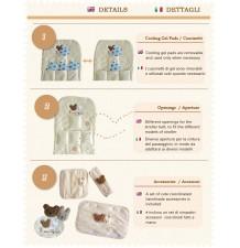 Copripasseggino Universale Rinfrescante Di Cotone Biologico SF10
