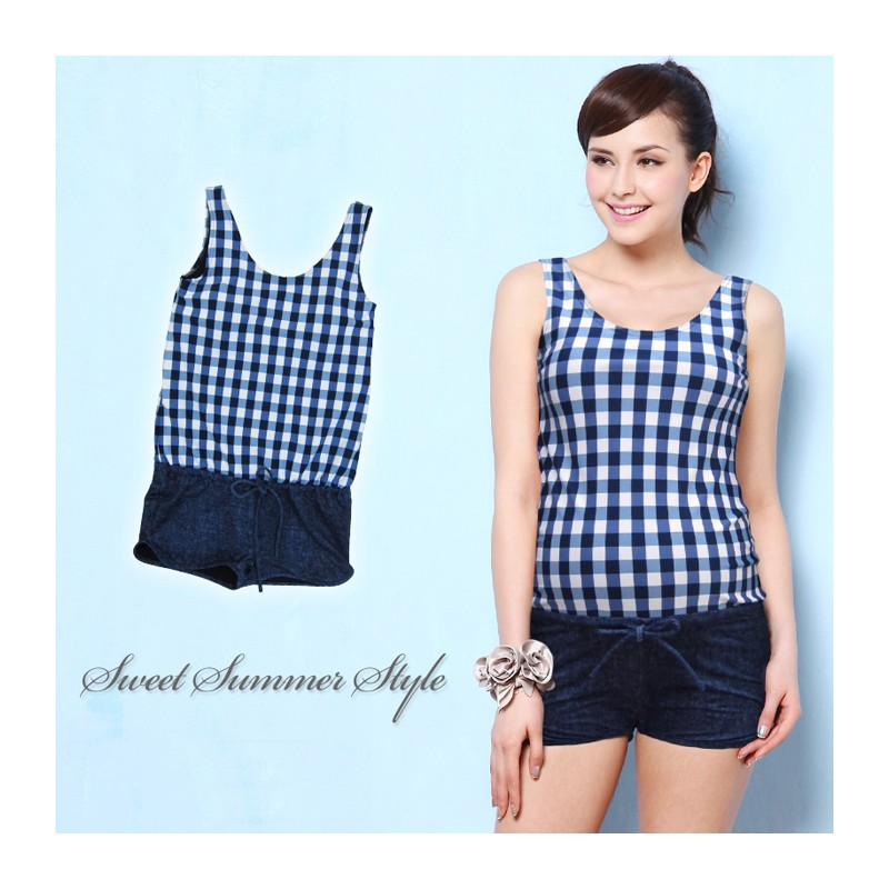 Lowrise Design One Piece Maternity And Nursing Swimsuit