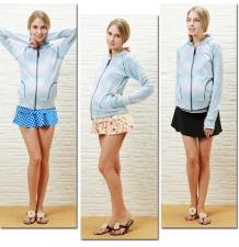 Maternity long sleeve rash guard anti UV swim shirt