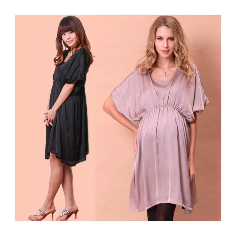 Maternity Nursing Tunic Dress