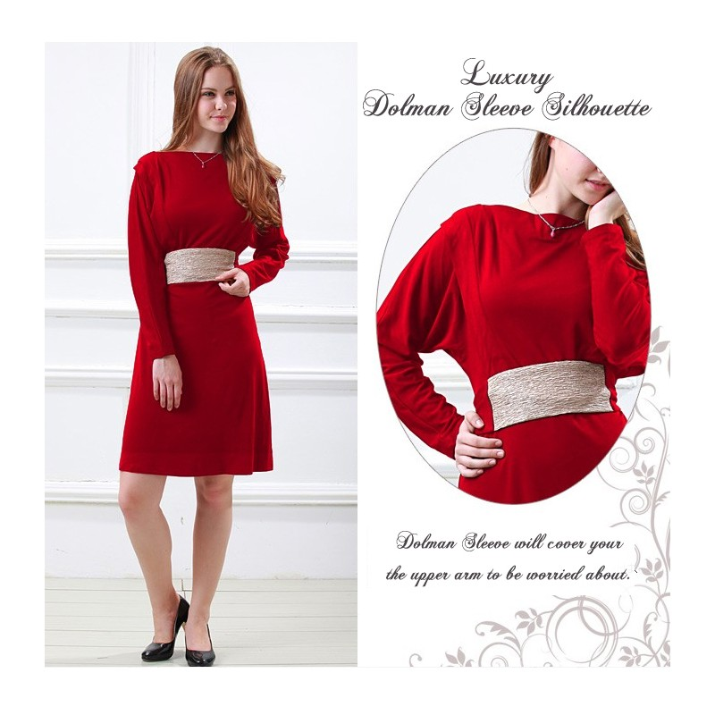 9755e418a3b2 ... Westmark Elegant Dolman Nursing and Maternity Dress ...