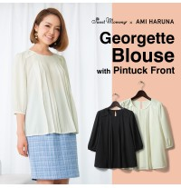 Georgette Maternity and Nursing Blouse