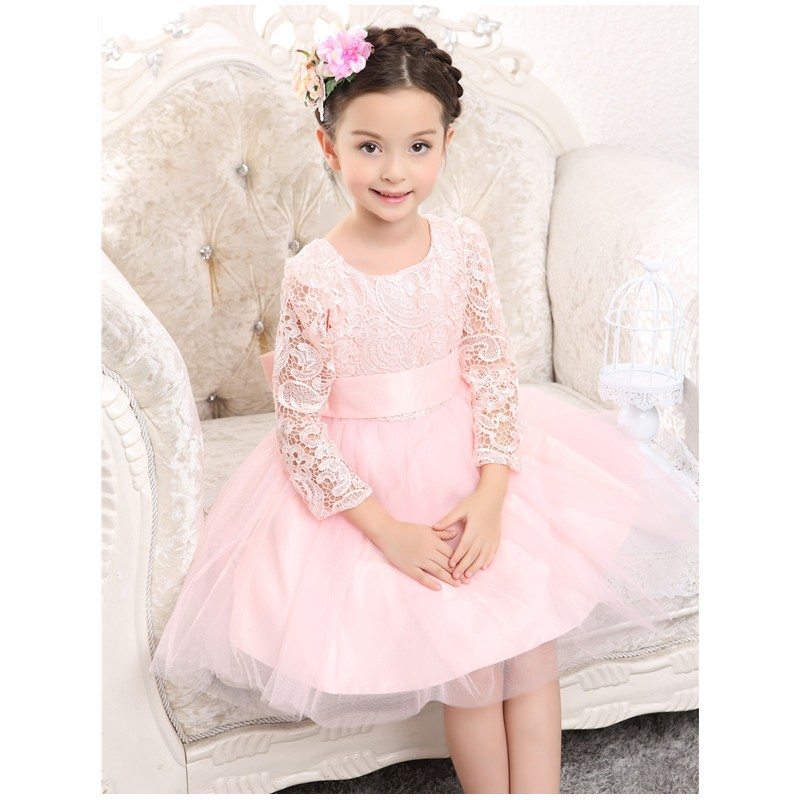81b0aa057 Flower girl formal dress white colour 100-140cm