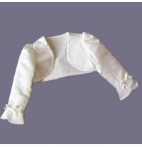 Girl Formal Bolero White 80-130cm