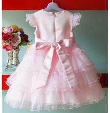 Robe de Cérémonie Demoiselle d'honneur Fille bébé 1-8 ans