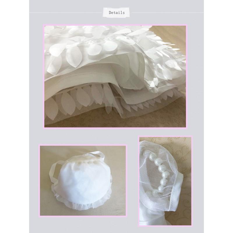 Robe blanche 3 mois
