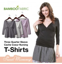Bamboo Fabric Nursing Top