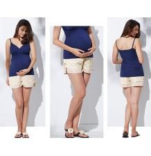 Pantaloncino / culotte gravidanza in pizzo