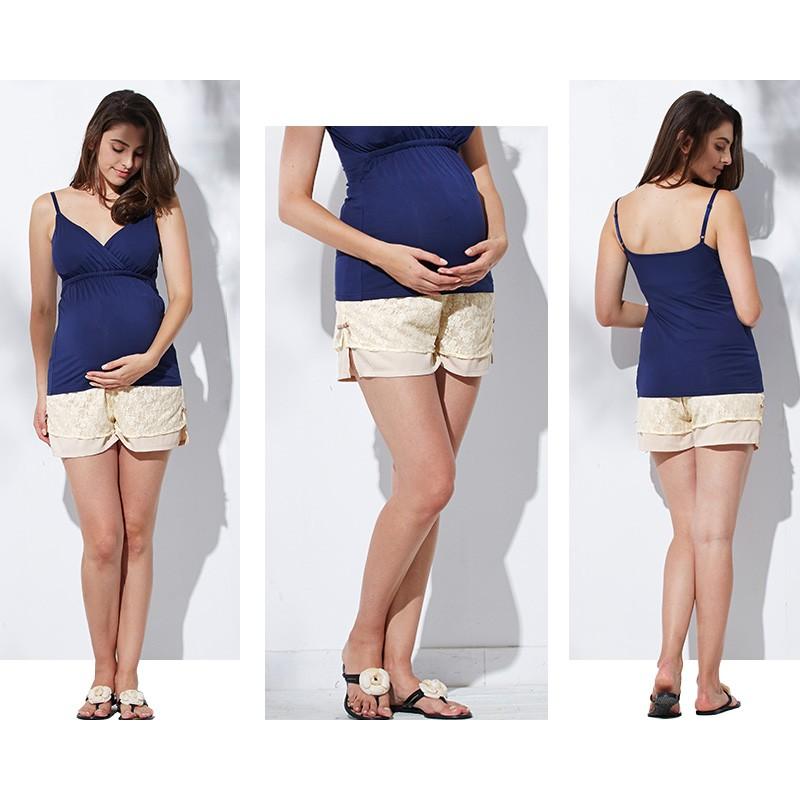 Short / culotte de grossesse ed dentelle