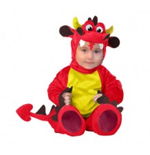 Costume de Carnaval Enfant Drague Rouge 6-24 mois