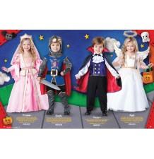 Costume Carnevale Vampiro per bambino Incharacter 2-4 anni