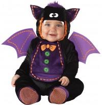 Costume Carnevale Halloween Pipistrello Incharacter 0-24 mesi