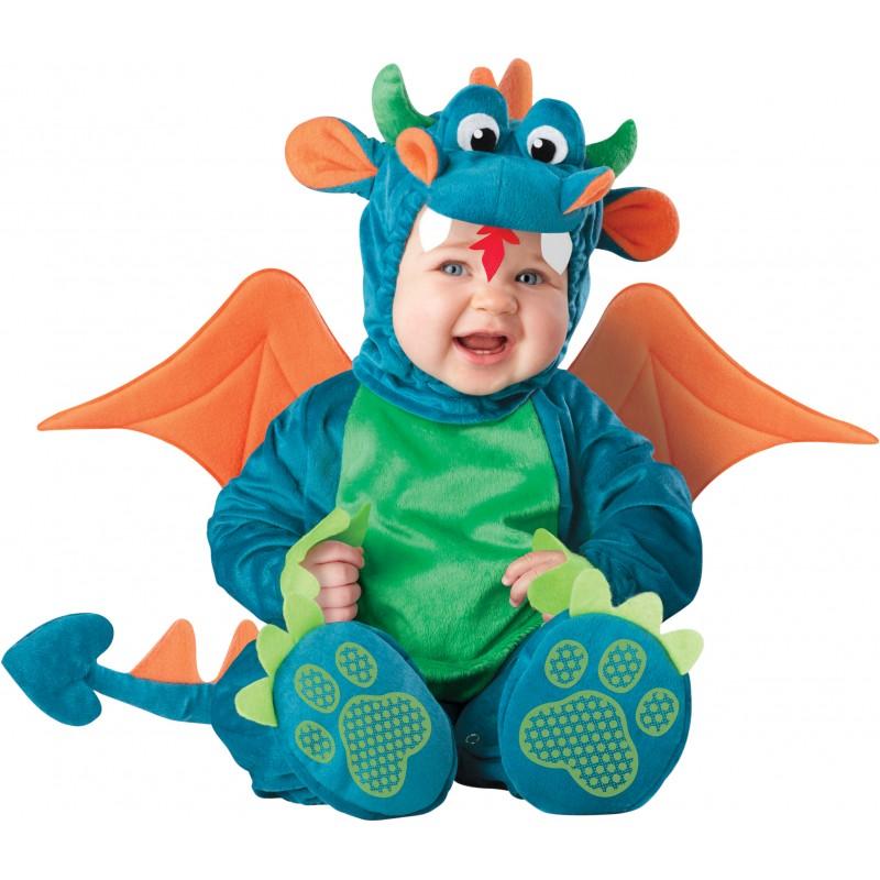 Costume Carnevale Drago per Bambino Incharacter 0-4 anni ... 0cdc34d22eb