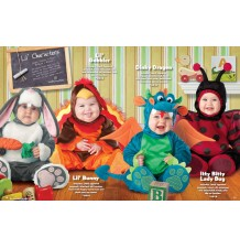 Incharacter Carnival Baby Costume Dinky Dragon 0-4 years