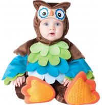 Costume Carnevale Gufo per Bambino Incharacter 0-24 mesi