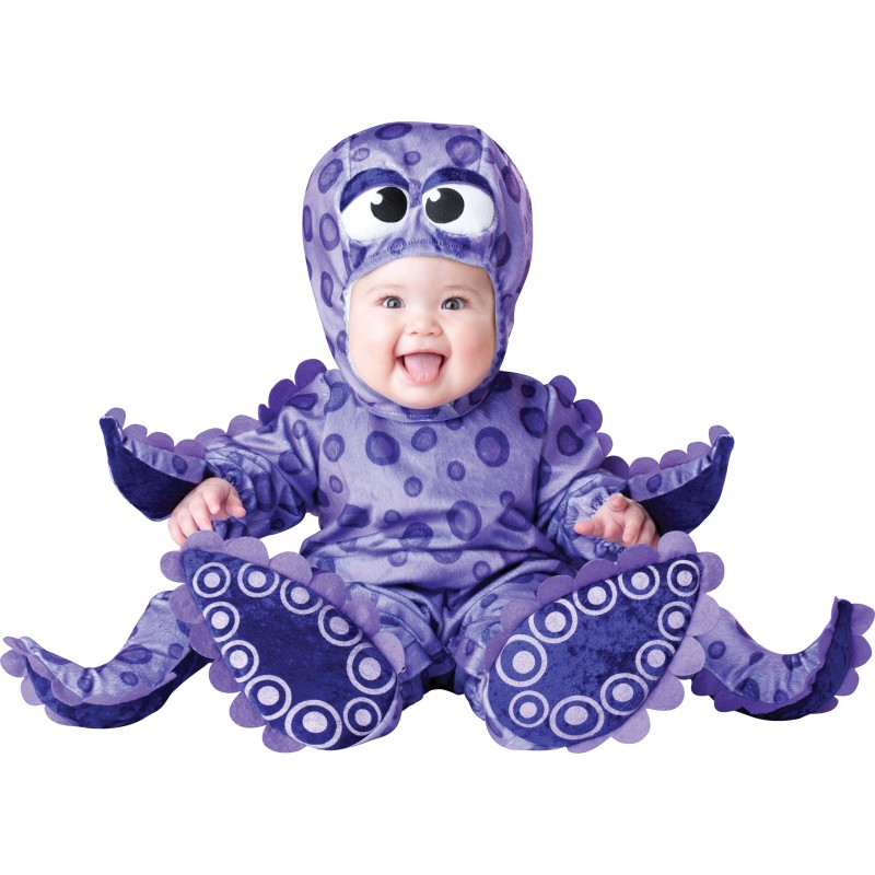 Costume Carnevale Piovra per Bambino Incharacter 0-24 mesi