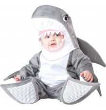 Incharacter Carnival Baby Costume Silly Shark 0-24 months