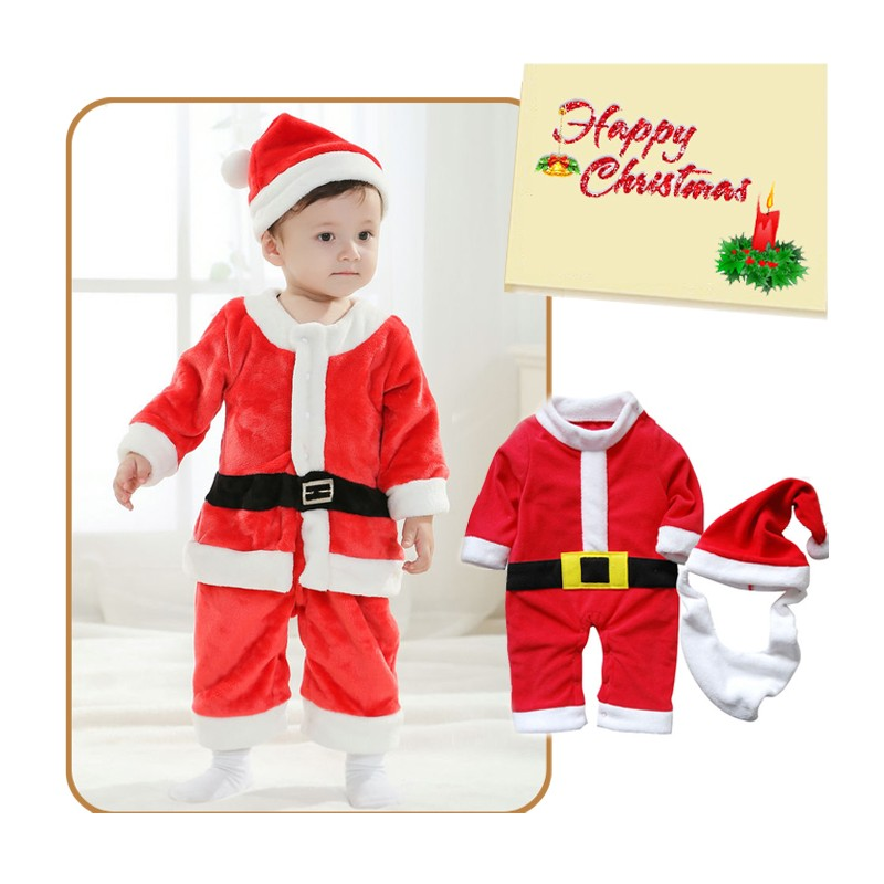 Baby boy Costume Christmas Santa Claus 80cm - 95cm ...  sc 1 st  Sweet Mommy : santa claus child costume  - Germanpascual.Com