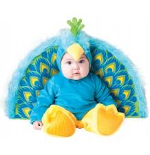 Costume Carnevale Pavone Prezioso per Bambino Incharacter 0-24 mesi