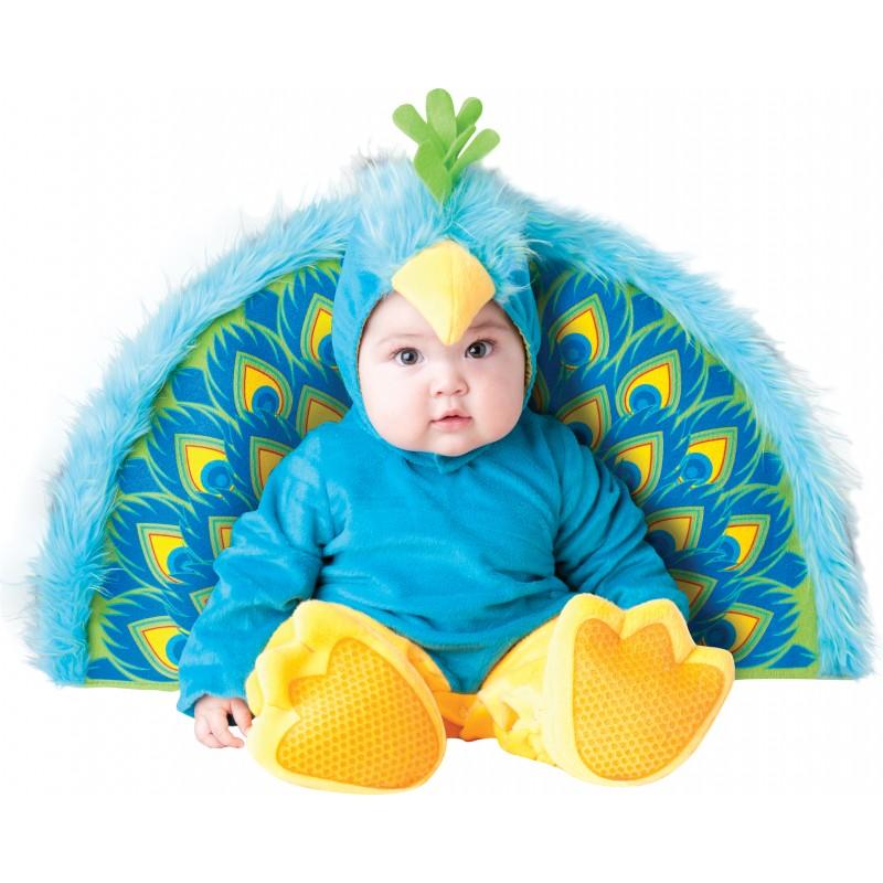 Incharacter Costume de Carnaval Enfant Paon Précieux 0-24 mois