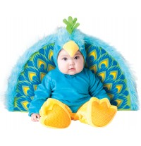 Incharacter Carnival Baby Costume Precious Peacock 0-24 months