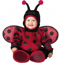 Incharacter Carnival Baby Costume Itty Bitty Lady Bug 0-4 years