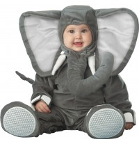 Incharacter Carnival Baby Costume Lil' Elephant 0-4 years
