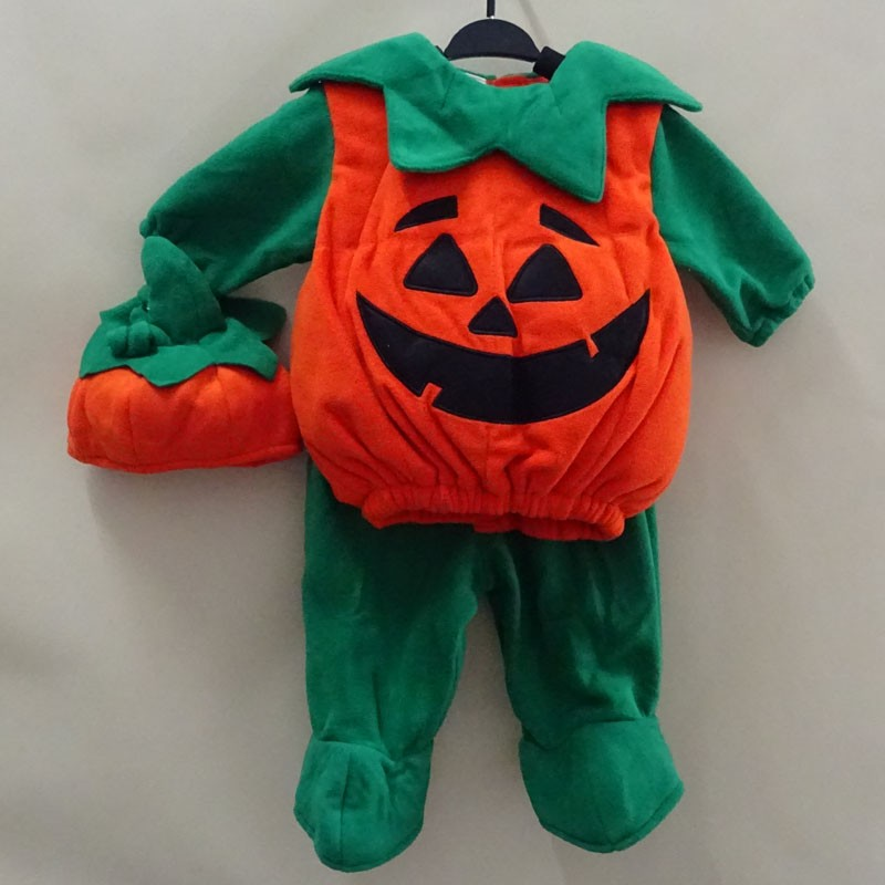 Hallloween and Carnival Baby Costume Pumpkin 0-18M