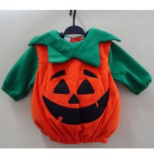 Costume de Halloween et Carnaval Citrouille 0-18M