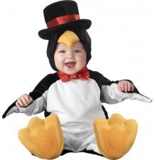 Costume Carnevale Pinguino Per Bambino Incharacter 0-24 mesi