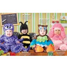 Costume Carnevale Barboncino Prezioso per Bambino Incharacter 0-4 anni